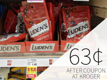 Luden's Throat Drops Just 63¢ At Kroger 1