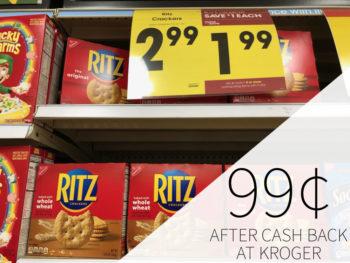 Nabisco Ritz Crackers Just $1.99 At Kroger