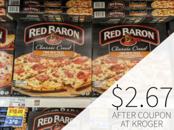 Red Baron Pizza Just $2.67 Each At Kroger 1