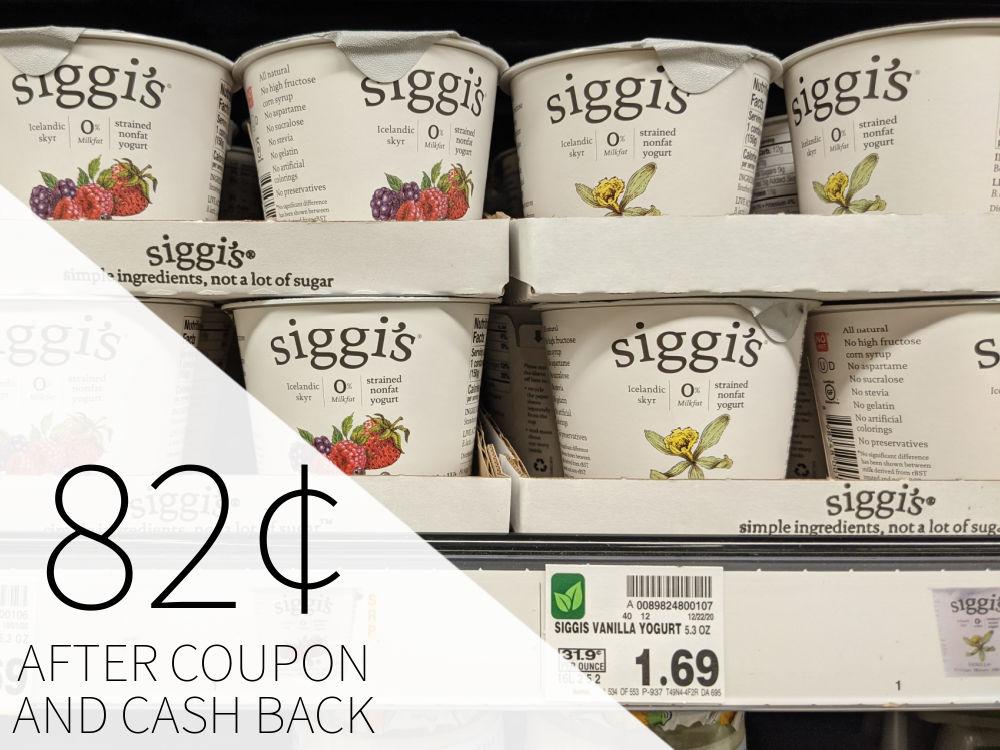Siggi's Yogurt As Low As 82¢ Each At Kroger 1
