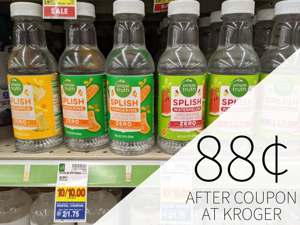 Simple Truth Splish Just 88¢ Per Bottle At Kroger