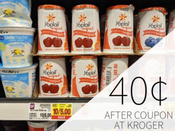 Yoplait Yogurt Just 40¢ Per Cup At Kroger 1