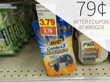 Bic Disposable Razors As Low As 79¢ At Kroger 1