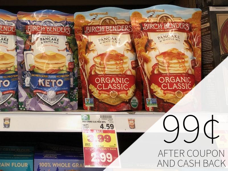 Birch Benders Pancake & Waffle Mix As Low As 99¢ At Kroger