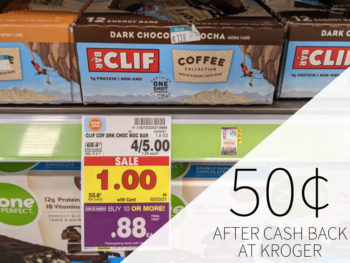 Clif Coffee Bars As Low As 50¢ At Kroger 2
