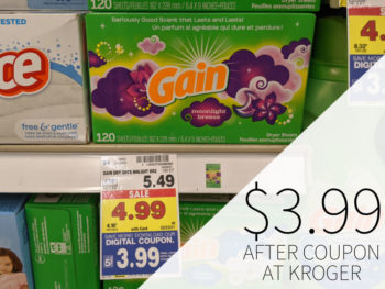 Gain Products Just $2.99 At Kroger 1