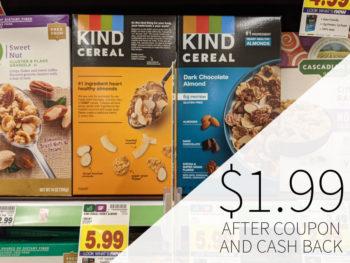 Kind Cereal Just $1.99 At Kroger