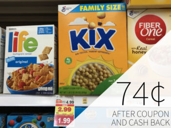Kix Cereal As Low As 74¢ At Kroger
