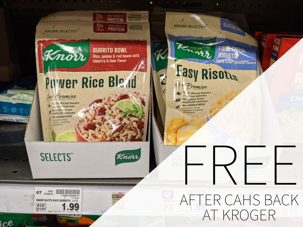Knorr Selects FREE At Kroger