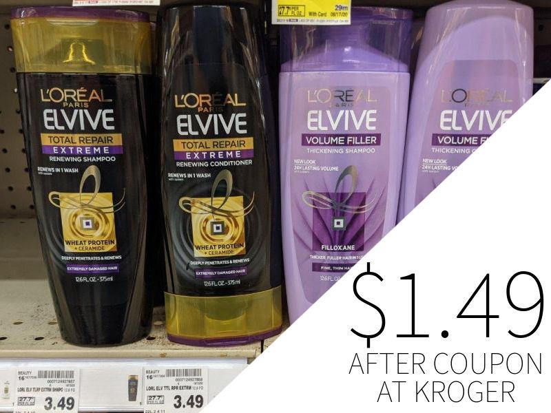 L'Oreal Elvive Just $1.99 Per Bottle At Kroger 4