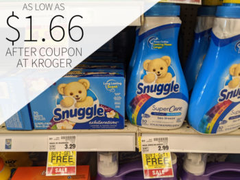 Snuggle Products Just 99¢ At Kroger 1