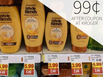 Garnier Whole Blends Shampoo Or Conditioner Just 99¢ At Kroger 2