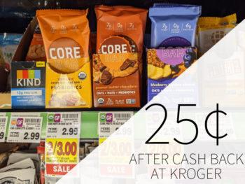 CORE Foods Overnight Oat Bar 49¢ At Kroger