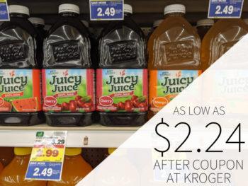Juicy Juice As Low As $2.24 At Kroger