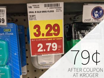 Oral-B Glide Floss Just 79¢ At Kroger