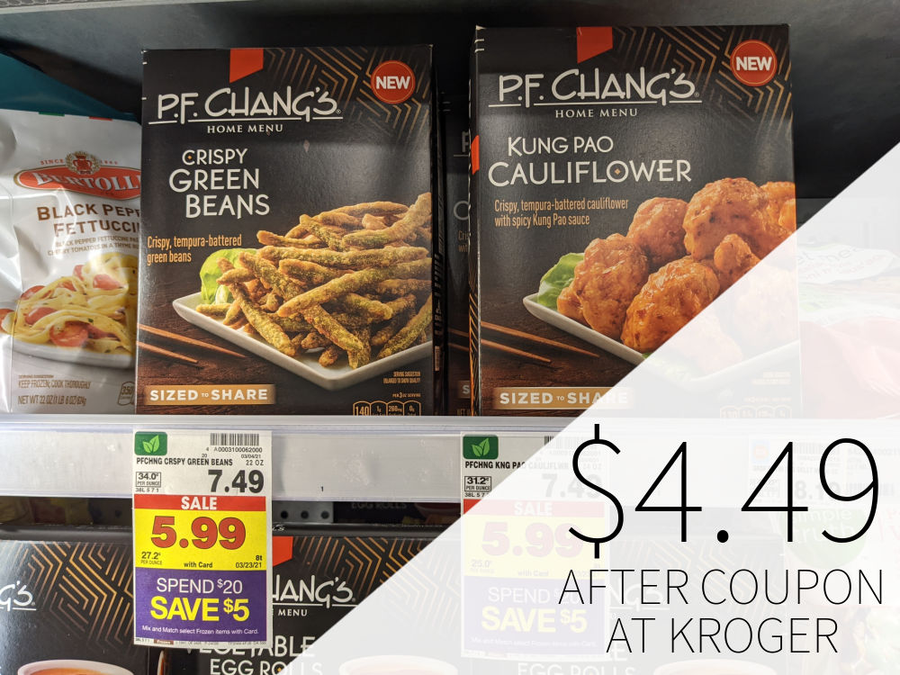 P.F. Chang's Home Menu Appetizers As Low As .49 Each At Kroger