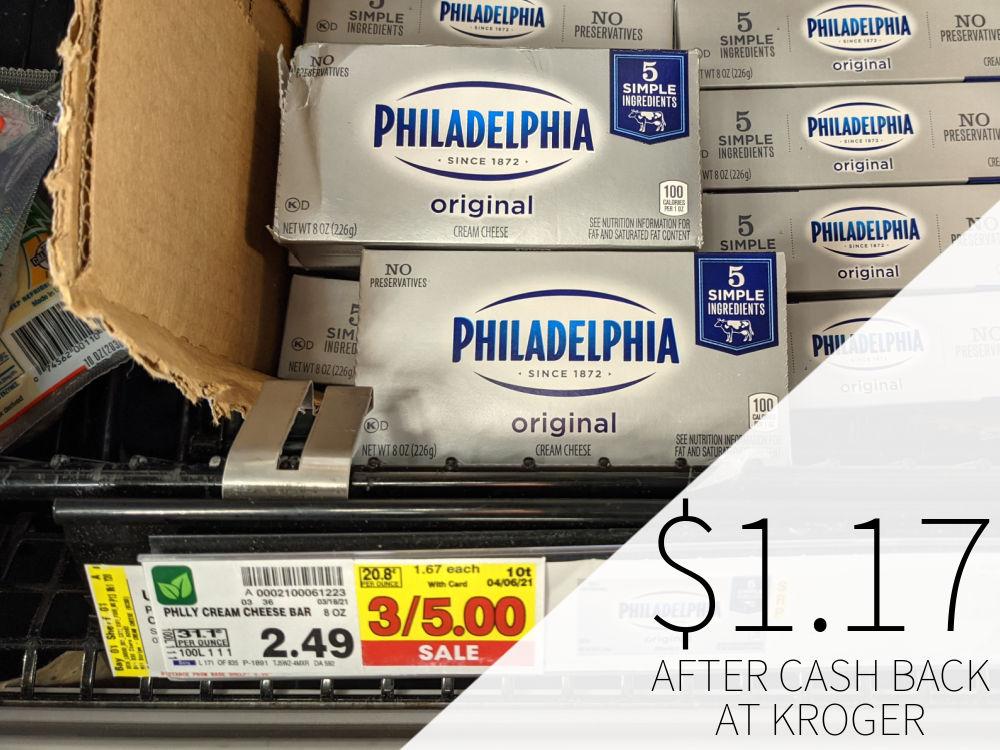 Philadelphia Cream Cheese Just 49¢ At Kroger 2