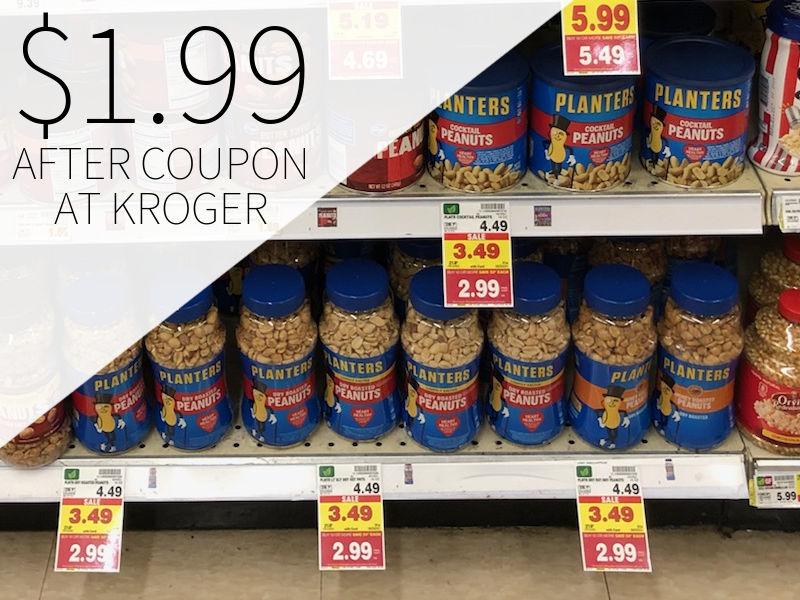 Planters Peanuts Just .99 At Kroger