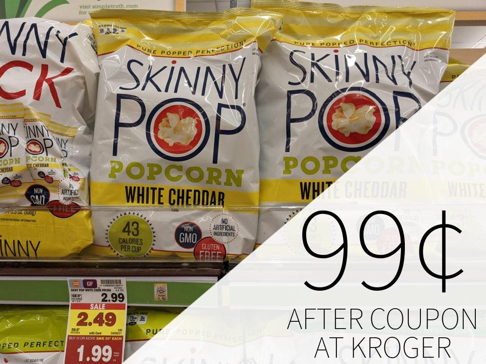 SkinnyPop Popcorn Just 99¢ At Kroger