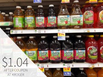 Juicy Juice Just $1.24 At Kroger