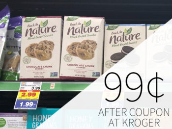 Back To Nature Cookies Or Crackers Just 99¢ At Kroger