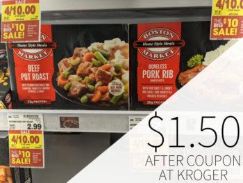 Boston Market Frozen Entrees Just $1.50 At Kroger