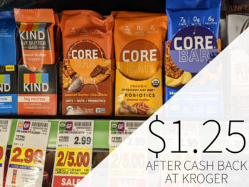 CORE Foods Overnight Oat Bars Just .74 At Kroger