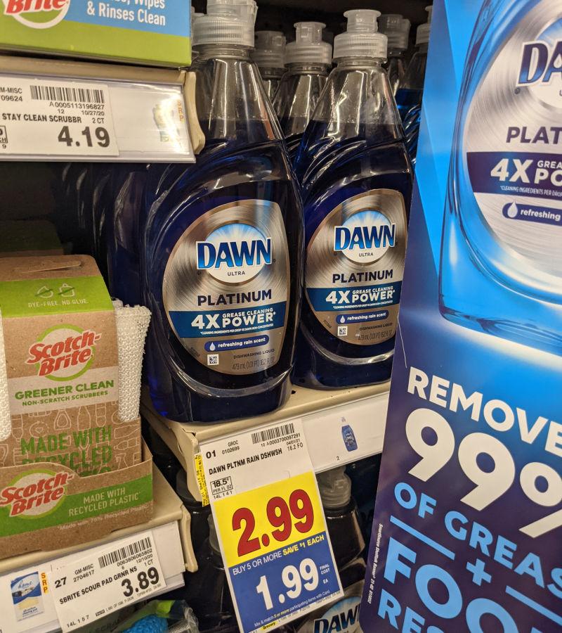 Dawn Dishwashing Liquid Just $1.49 At Kroger 1