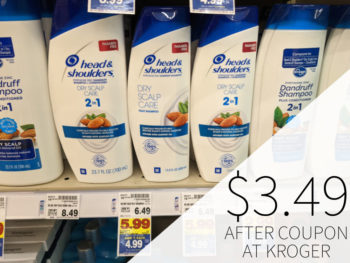 Head & Shoulders Hair Care Just $3.49 Per Bottle At Kroger 4