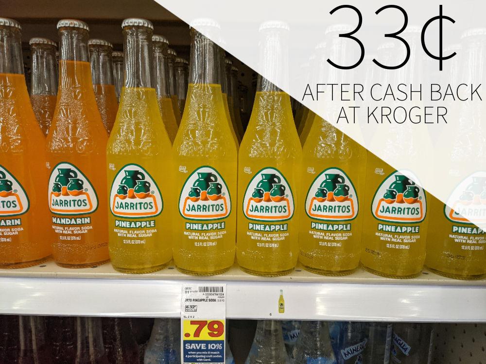 Jarritos Soda As Low As 33¢ Per Bottle At Kroger