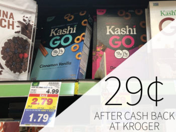 Kashi Go Keto Friendly Cereal Just 29¢ At Kroger
