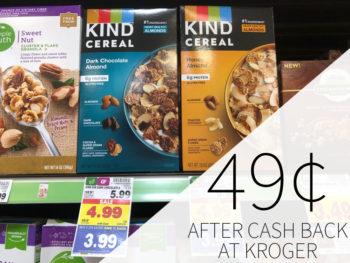 Kind Cereal Just $1.99 At Kroger (Regular Price $5.99)