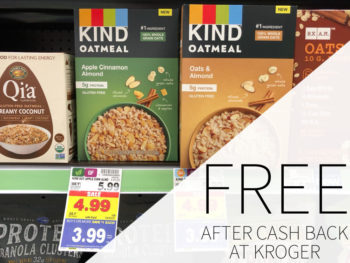 Kind Oatmeal FREE At Kroger