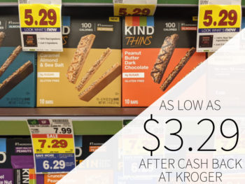 Kind Thins As Low As .29 At Kroger
