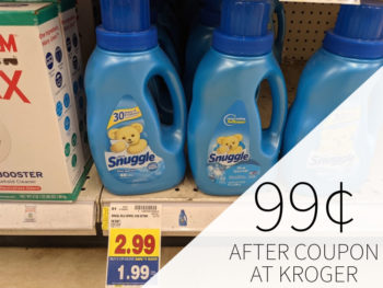 Snuggle Products Just $1.49 At Kroger 2