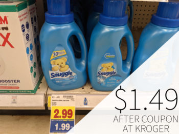 Snuggle Products Just $1.49 At Kroger 1