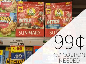 Sun Maid Bites Just $1.50 Per Bag At Kroger 1