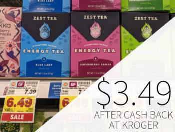 Zest Tea Just $1.99 At Kroger 1