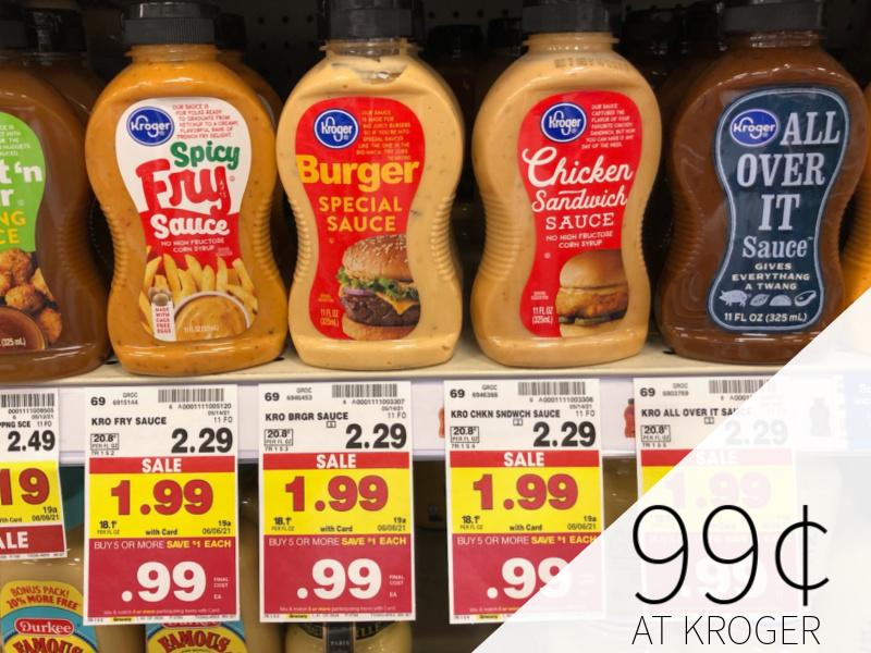 Kroger Sauce Only 99¢ At Kroger