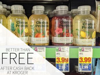 Chobani Probiotic Drink Better Than FREE At Kroger