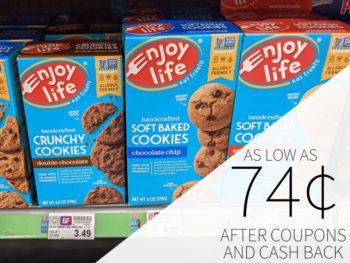 Enjoy Life Cookies As Low As 74¢ Per Box At Kroger