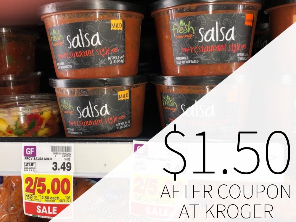 Fresh Cravings Salsa FREE At Kroger