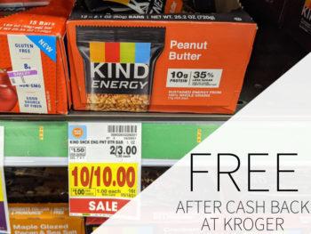 Kind Energy Bars Just 43¢ Per Bar At Kroger