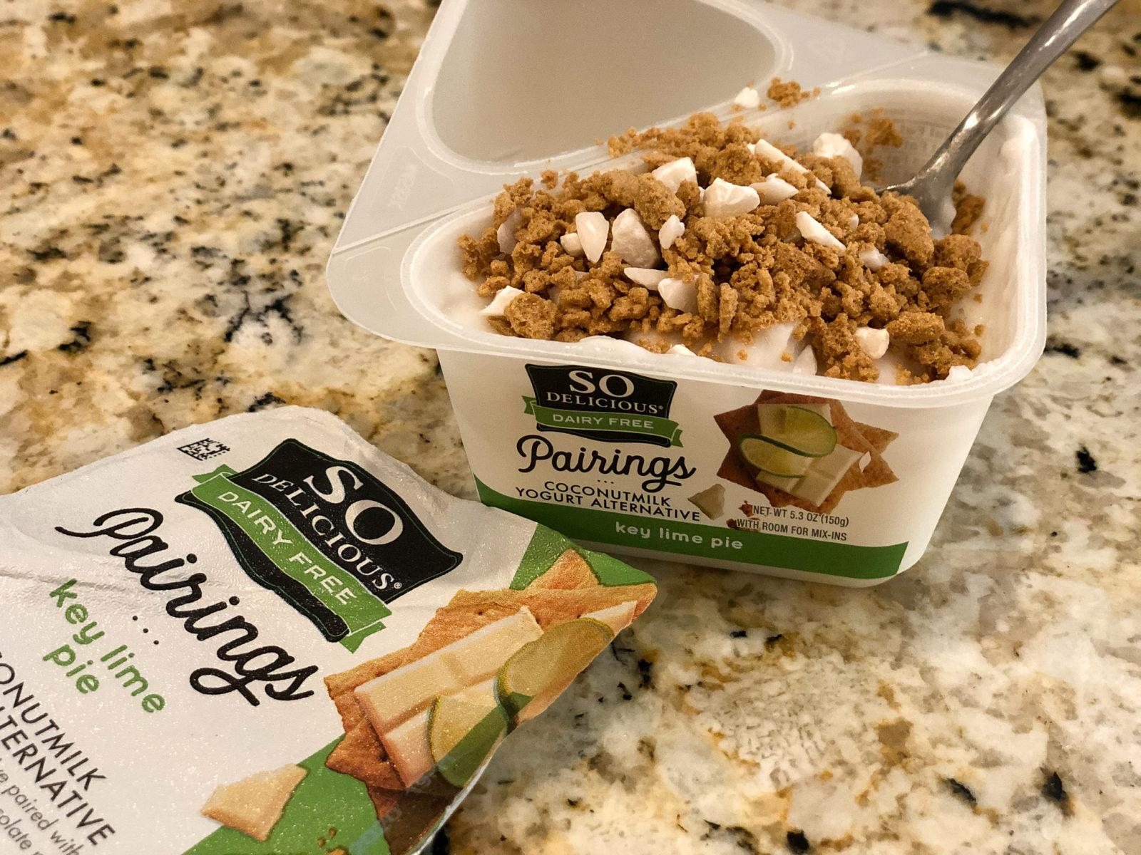 FREE So Delicious Pairings Yogurt Alternative At Kroger