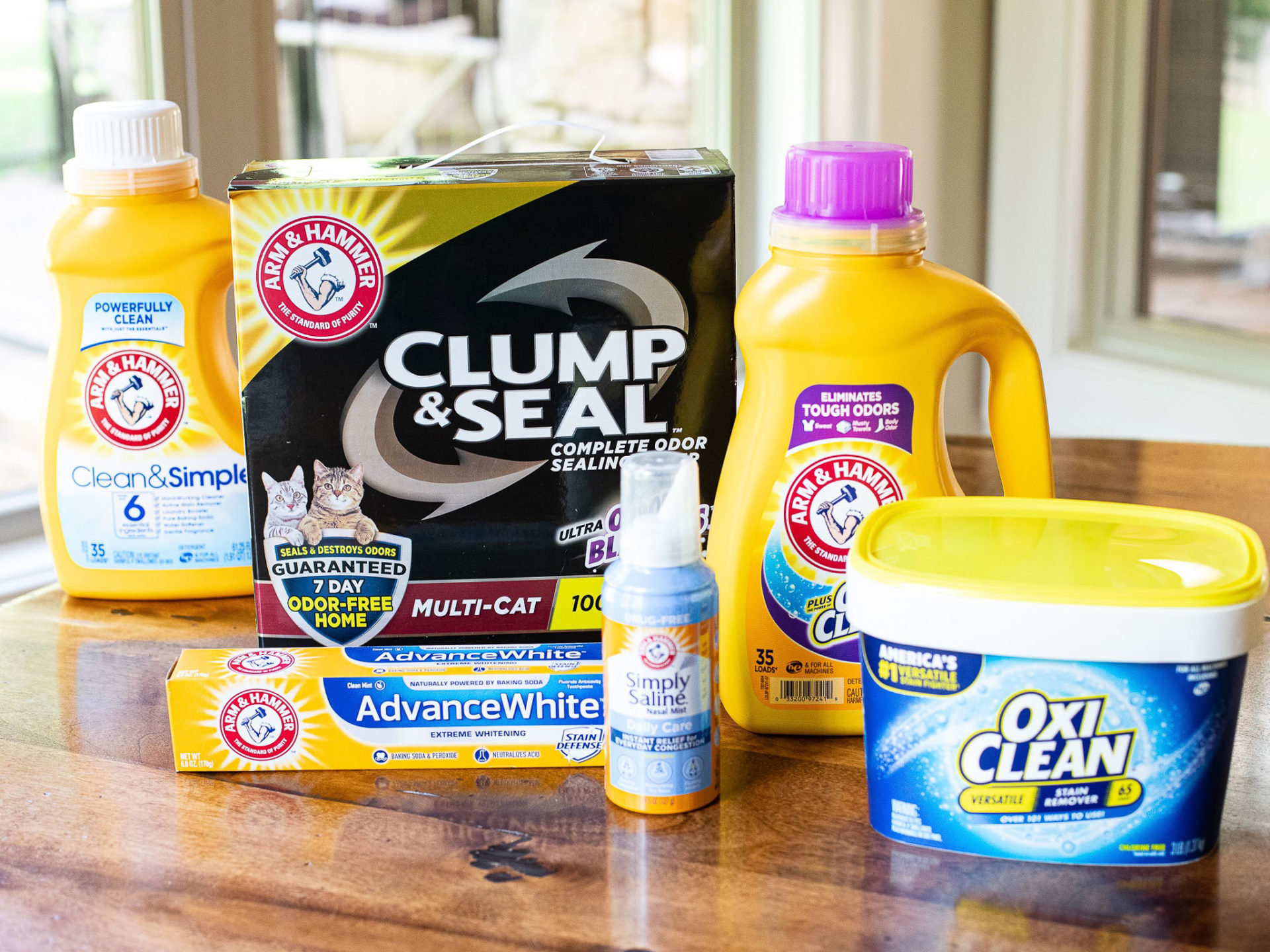 Rally to Win With Great ARM & HAMMER™ andOxiClean™ Products - Stock Your Cart At Kroger 1