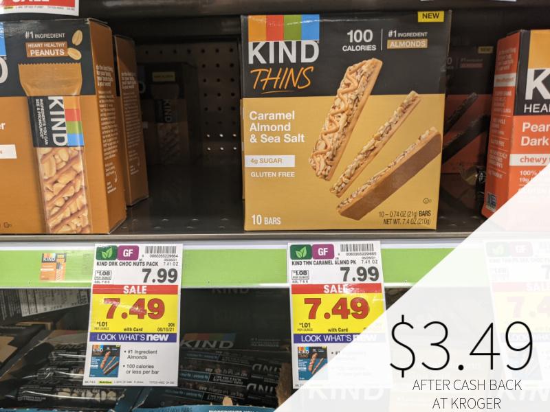 Kind Thins Only $3.49 At Kroger