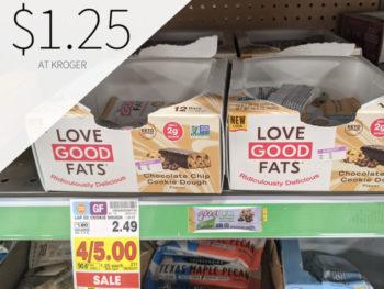 Love Good Fats Bar Just .25 At Kroger