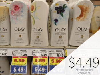 Olay Body Wash Only .49 At Kroger