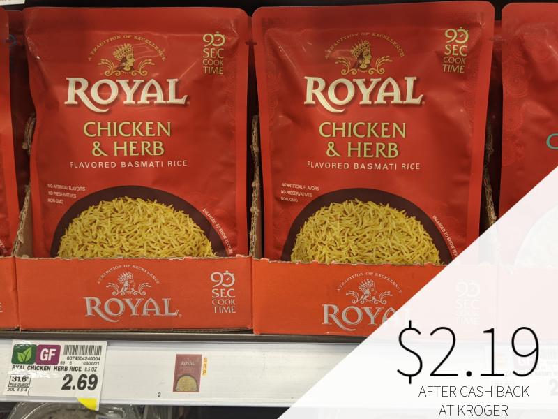 Royal Ready to Heat Rice