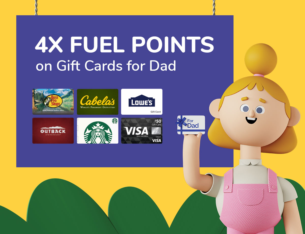 4x Kroger Fuel Points When You Buy Gift Cards 7